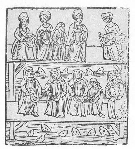 La cérémonie du T achlich dans une gravure du Moyen• Age