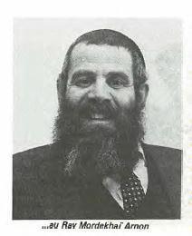 Rav Mordehai Arnon