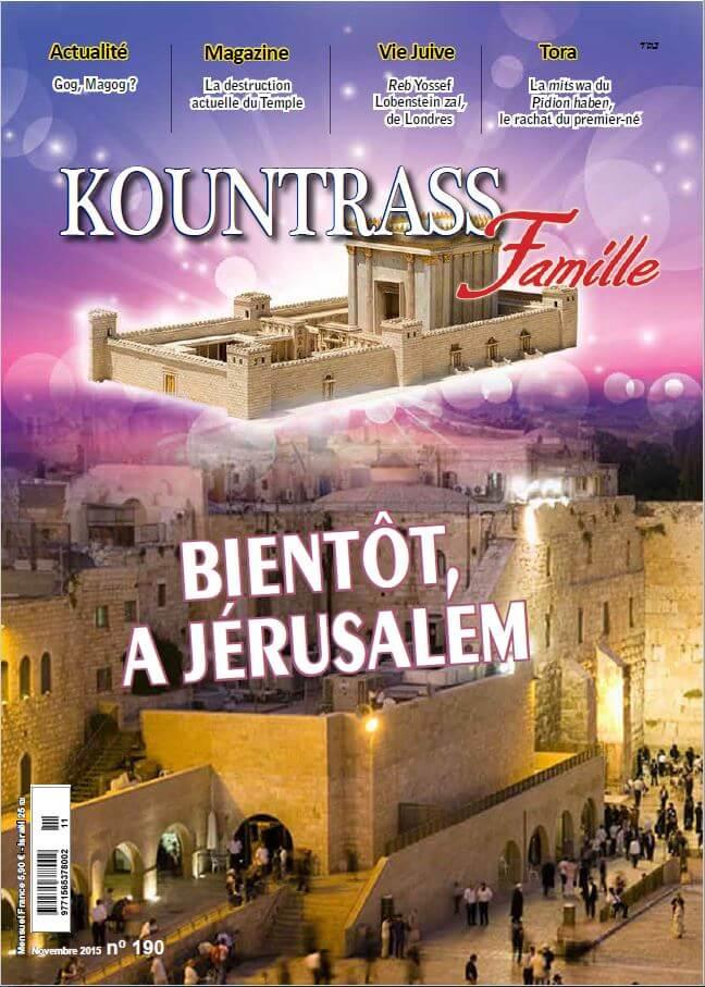 Couverture du magazine 190 de Kountrass